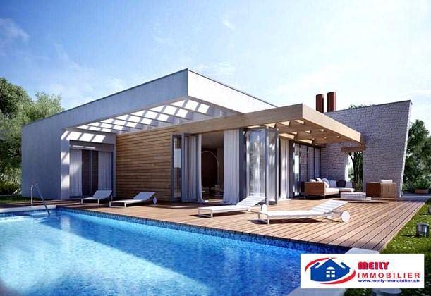 Maison ossature bois prix maison toiture terrasse les for Construire sa maison en bois prix