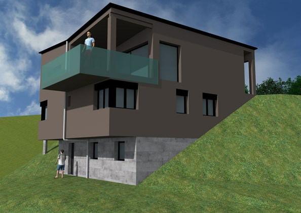 bassecourt maison familiale neuve sur plans architecture adapt e. Black Bedroom Furniture Sets. Home Design Ideas